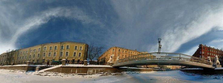 Griboedov's Canal.The calendar of a Defa company.  2009. Vladimir Brylyakov.