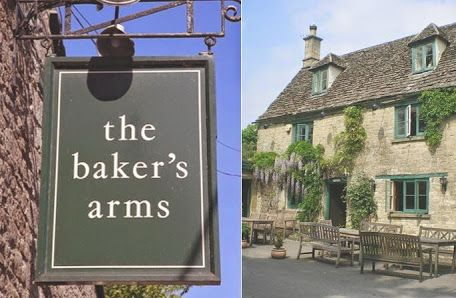 The Baker's Arms  The Baker's Arms is the closest pub to the Lower Mill Estate and is often visited by guests at Daisy Chain. It is within walking distance, in the village of Somerford Keynes. In early summer it is covered in delicate purple wisteria flowers.   The Baker's Arms is family friendly, with a playground in the garden for children. The pub serves a range of light lunchtime meals and has a more substantial evening menu. It also has 'special' nights for steak, fish and chips…