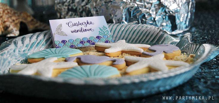 Urodziny Małej Syrenki Mermaid Party Mermaid cookies Najpiękniejsze dekoracje urodzinowe!