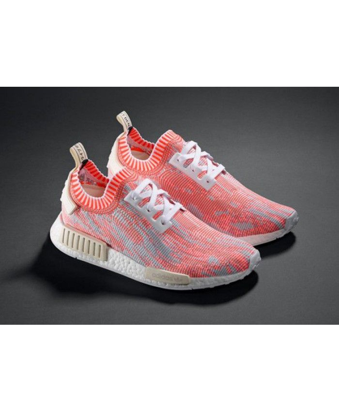 Men's Adidas NMD R1 Sneakers WhiteGreyBlack