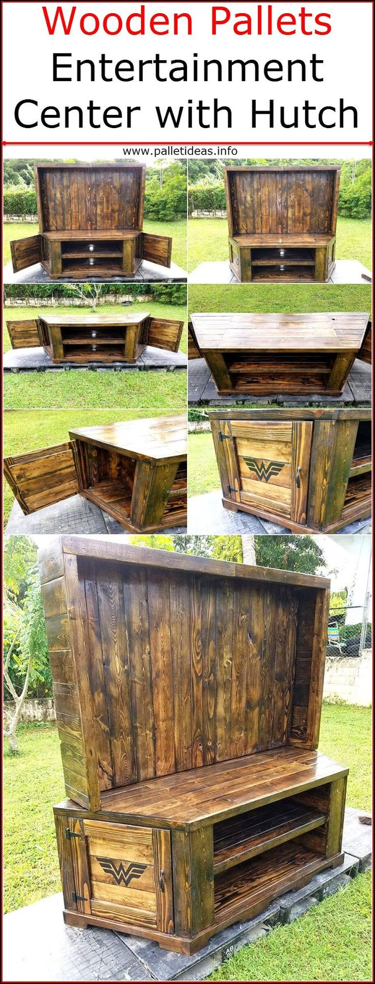 wooden-pallets-entertainment-center-with-hutch