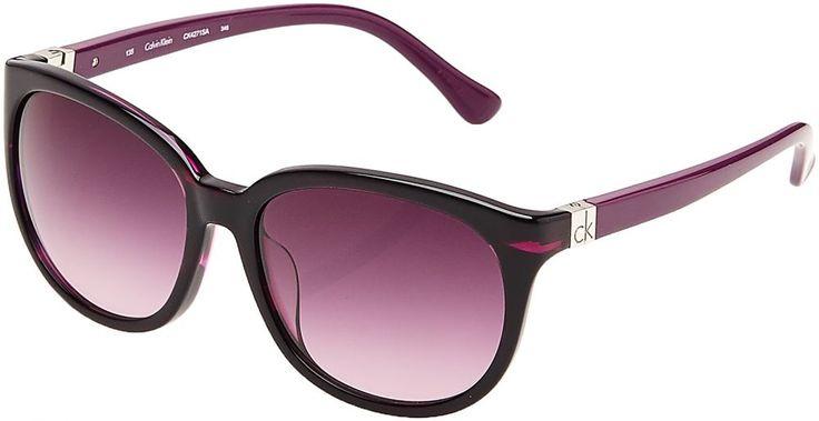Buy Calvin Klein Wayfarer Sunglasses For Women - Ck4271SA - 58-17-135mm - Eyewear | UAE | Souq