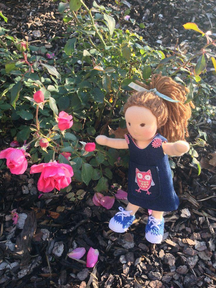 https://flic.kr/p/zpKAGs   Mini doll, 24cm   www.littlehanny.blogspot.de