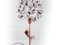 """Lámpara de mesa con flor """"Dorothy"""""""