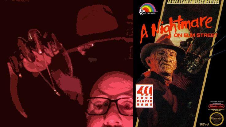 A Nightmare on Elm Street - NES | Halloween | Let's Play | Freddy Krueger