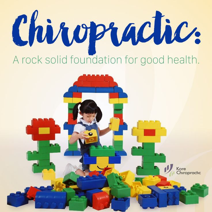 #Chiropractic: A rock solid foundation of good #health.   #GetAdjusted