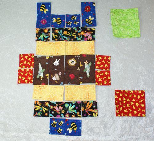 Umulius i billeder :-) Håndsyning (patchwork)