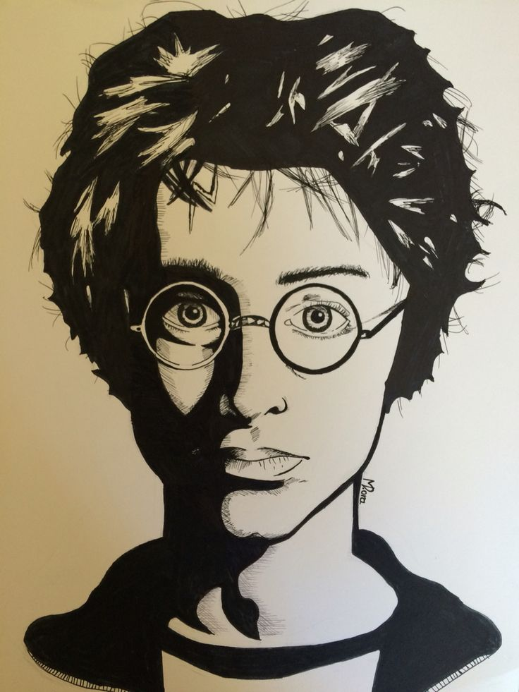 Harry Potter by Dora Meidani