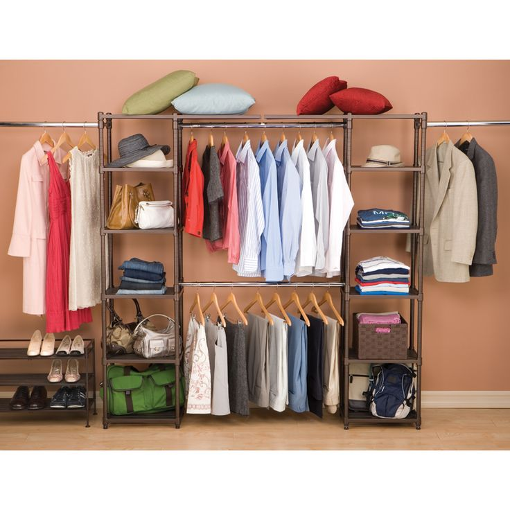 18 Classy Closet Storage Solutions For Your Clothes: 1000+ Images About Closet Organizers On Pinterest