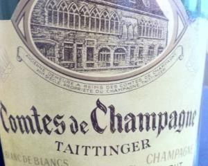 Taittinger Champagne Brut Blanc de Blancs Comtes de Champagne