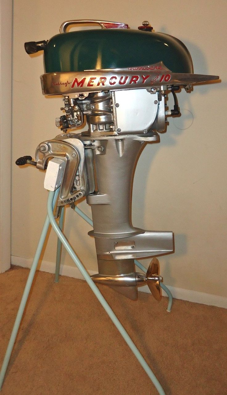 636 best images about vintage boats engines and the likes for Vintage mercury outboard motors