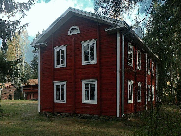 Talomuseo Ränkimäki. - House Museum Ränkimäki, Lapua, South Ostrobothnia province of Western Finland. - Etelä-Pohjanmaa,