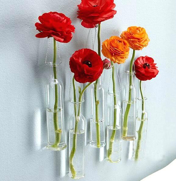 Wonderful Glass Wall Vases Hanging Wall Vase Buy Hanging Glass Wine Cups Design Hanging Wall Vase Vases Decor