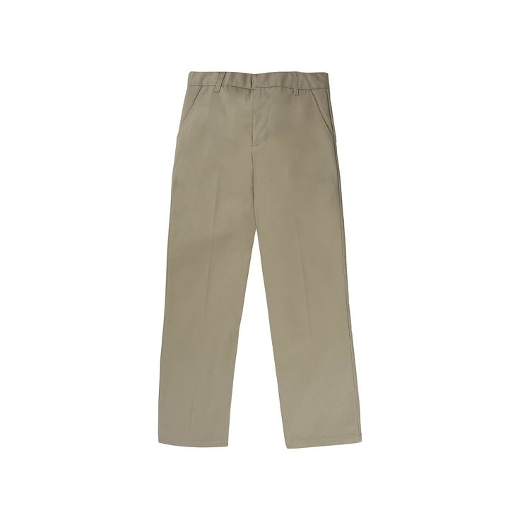 Boys 4-20 French Toast School Uniform Relaxed-Fit Pants, Boy's, Size: 18, Beig/Green (Beig/Khaki)