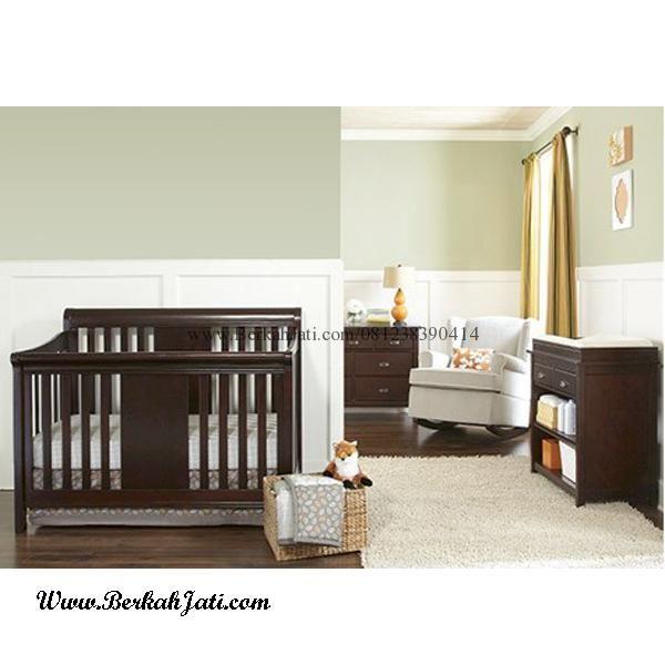 Jual Set Kamar Bayi Minimalis Laki Laki desain Kamar Set Untuk Bayi Laki Laki Anda dengan desain Box Bayi, Baby Tafel, Nakas Tinggi Minimalis Kayu Jati