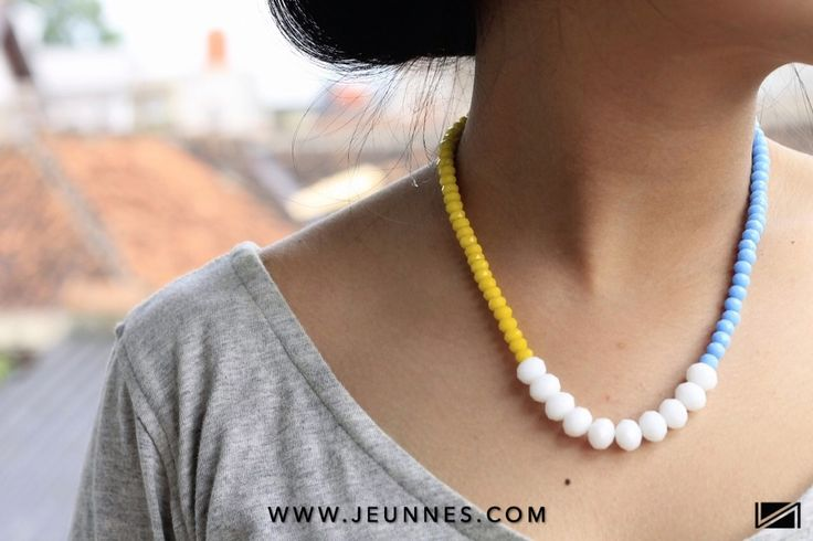 LADIES | POP ART NECKLACE only 39k idr!  Shope more: WWW.JEUNNES.COM