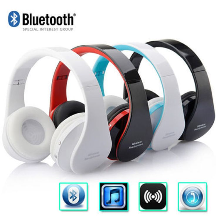 Find More Earphones & Headphones Information about New Bluetooth NX 8252 Headphone Foldable High Surround Sound Wireless Stereo Headset For Phone Laptop Tablets PC with Mic,High Quality headset splitter,China headset hook Suppliers, Cheap headset from UNIFISH Store on Aliexpress.com
