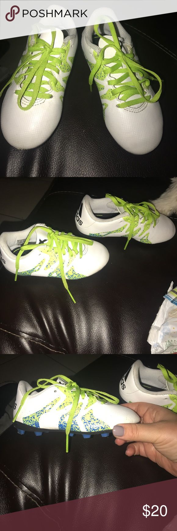 Adidas soccer cleats toddler size Like new. Barely used. Adidas soccer cleats for boys. adidas Shoes Sneakers
