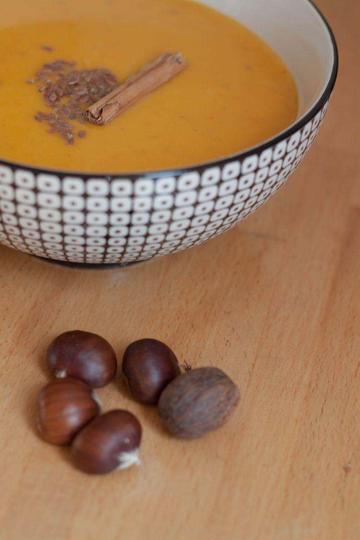 [Food] Velouté Potimarron-Châtaigne - Hëllø Blogzine