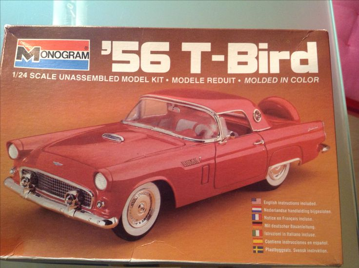 Coming up Ford Thunderbird model u002756 scale 1/24 from Monogram. & 216 best Model car kits - Scale models (home made collection ... markmcfarlin.com