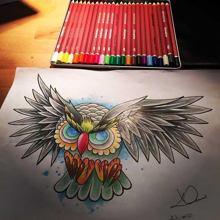#owl#drawingowl#ink#inkcolor#colordrawing#sowarysunek#spirochetescolor#red#apstracion#tattoo#klimastattoo#projekttattoo#newschool#nice#norwey#arttattoo#artdrawing#