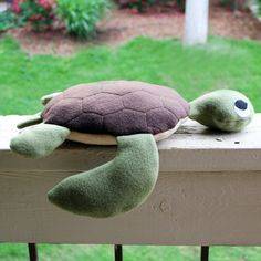 Turtle Soft Toy Sewing Pattern