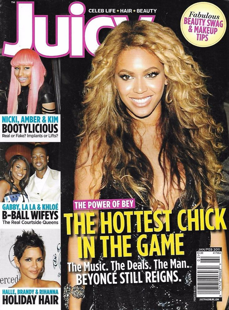 Juicy magazine Beyonce Basketball Wives Holiday hair Butt augmentation surgery