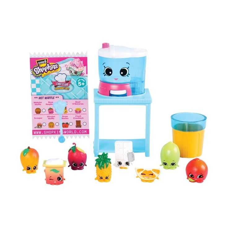 Shopkins chef club deluxe pack juicy smoothie collection