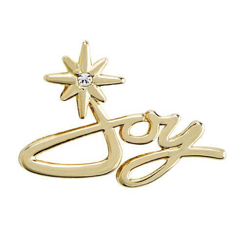 "Ring in the best season of all with JOY! Our Seasonal Exclusive Gold ""Joy"" Script Slider with Swarovski® Crystals features the word ""Joy"" in a modern script and is highlighted by a poignant Swarovski® Crystal star accent. Slide this on your favorite Genuine Leather Wrap and watch your heart overflow with gladness this holiday season!"