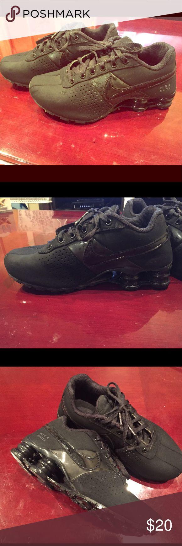 Nike size 5.5 Black Nike Shox Nike Shoes Sneakers