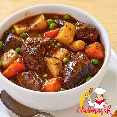 Resep Beef Cube Ala Mama, Sajian Keju Krim, Club Masak