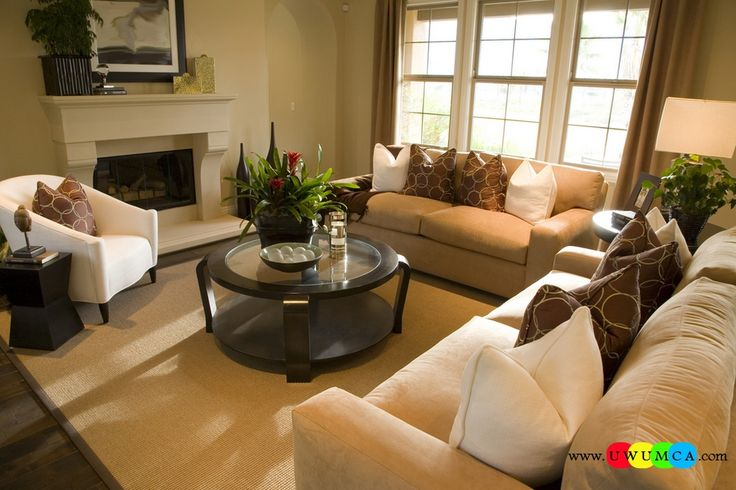 Living Room Staging Decoration Alluring Design Inspiration