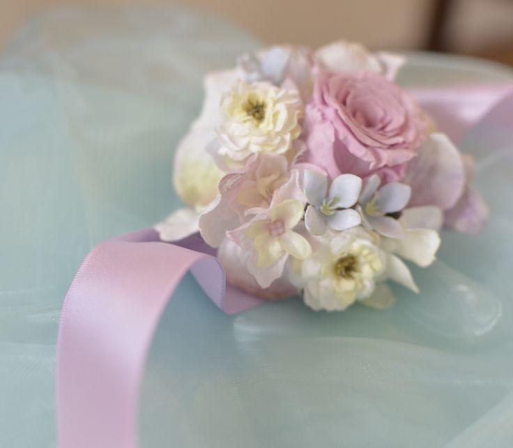 リストブーケ・リストレット・手首を美しく飾るウェディング小物/チェルシー -chelsea-
