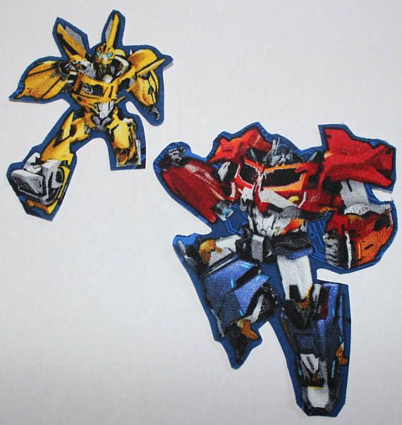 Iron On Transformers Character Iron-on Fabric Quilting