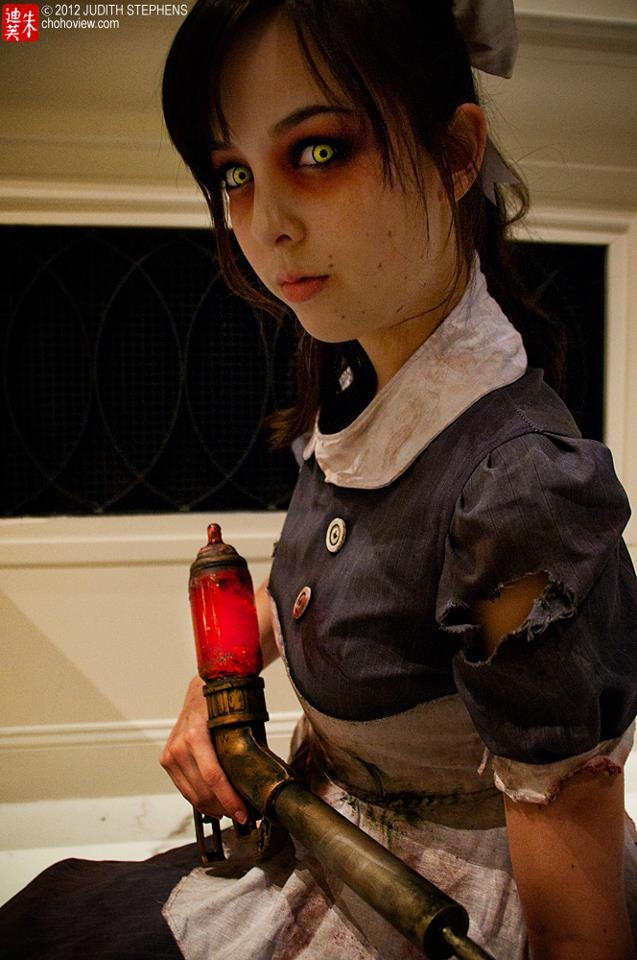 My Little Sister at Katsucon! Amazing photo by Judy Stephens! for game Bioshock