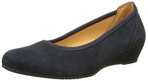 Gabor Shoes 42.690 Damen Durchgängies Plateau Ballerinas ,Blau (46 nightblue) ,38 EU - http://on-line-kaufen.de/gabor/38-eu-gabor-damen-ballerinas-10