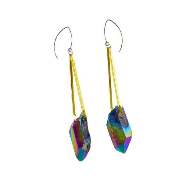 Fab.com | Stellar Parallax Earrings