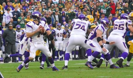 Christian Ponder hits close to home