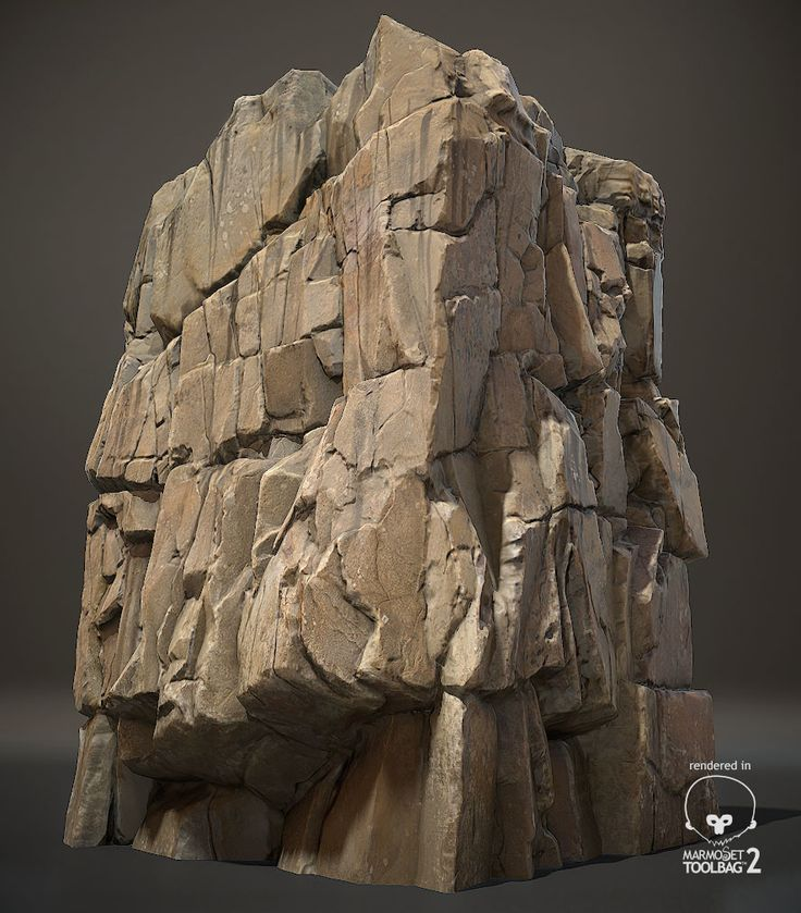 ArtStation - cliff rock, Chae WonHee