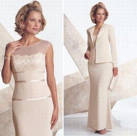 vestidos de festa para senhoras de 50 anos com blazer