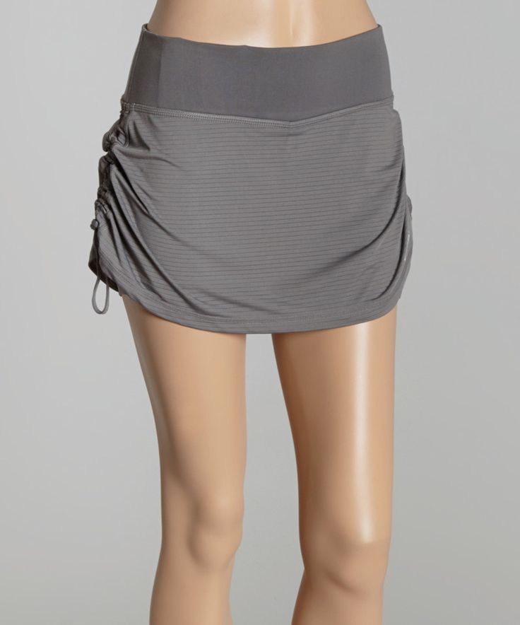 Look at this HEAD Castlerock Ruched Skort on #zulily today!