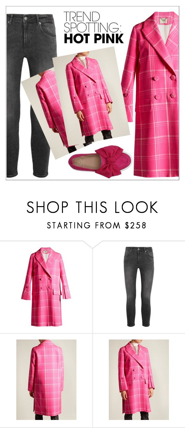 """""""NYFW Trend Spotting: Hot Pink"""" by amchavesj-1 ❤ liked on Polyvore featuring Fendi, Ksubi, KG Kurt Geiger, contestentry and NYFWHotPink"""