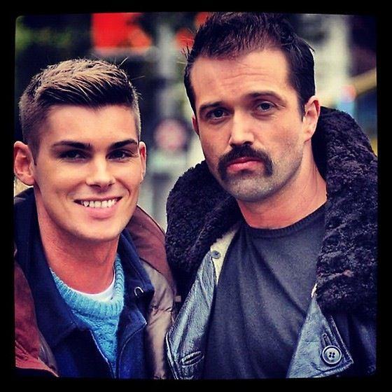 Kieron Richardson (Ste) and Emmett Scanlan (Brendan) HOLLYOAKS greatest loves