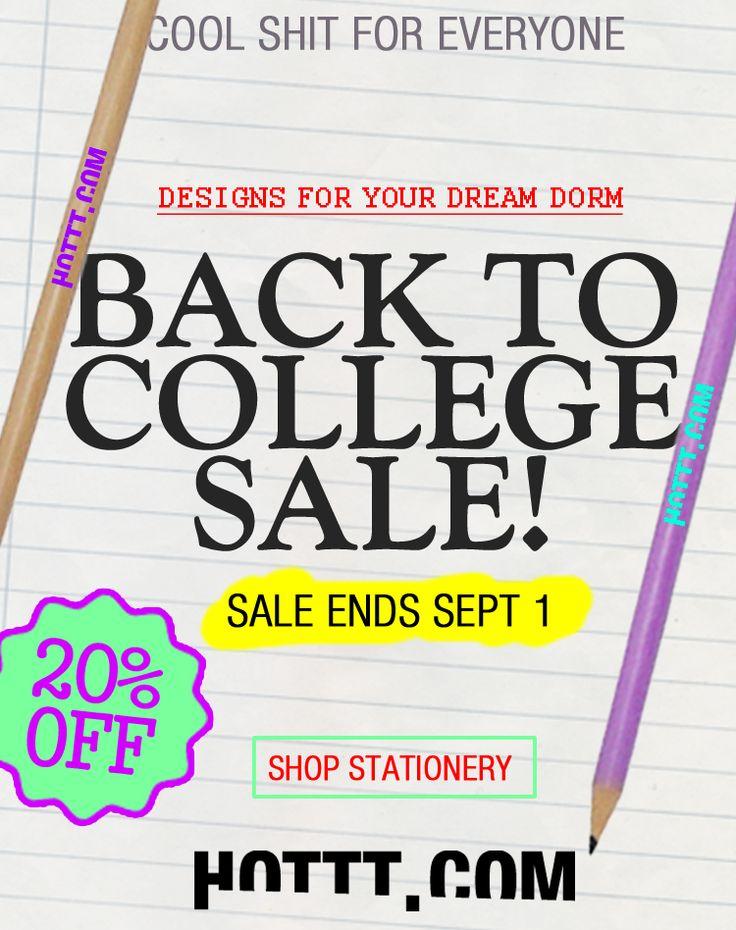 Get 20% Off Your Entire Order @ WWW.HOTTT.COM #sale #back2school
