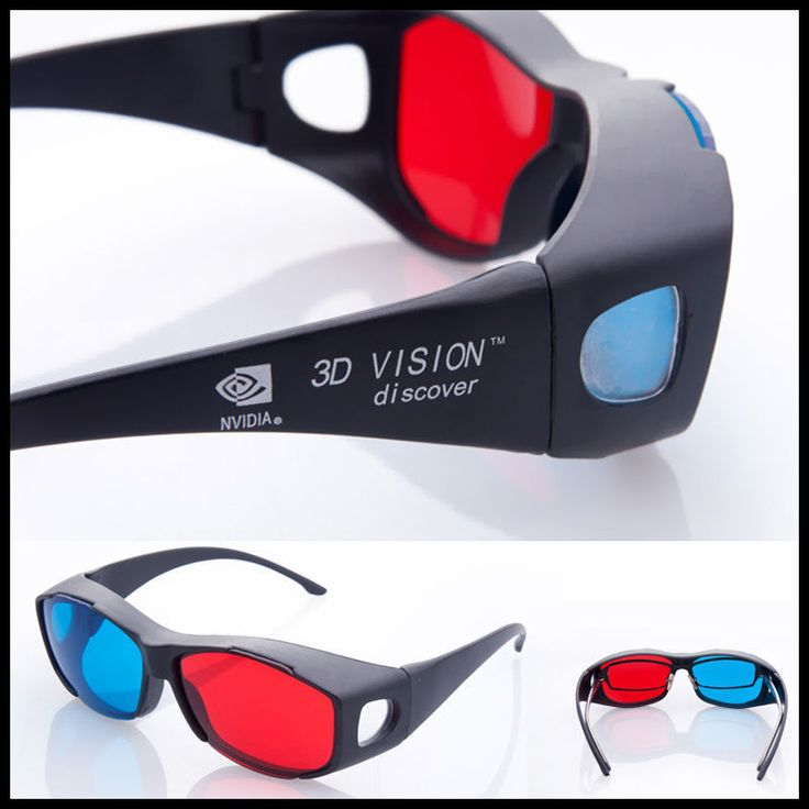2014 Universal type 3D glasses/ Color Red Blue Cyan 3D glasses Anaglyph 3D Plastic glasses-in 3D Glasses from Electronics on Aliexpress.com | Alibaba Group