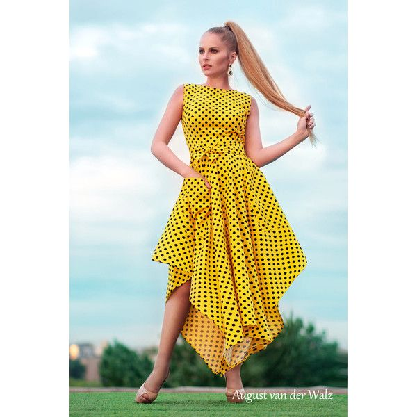 Yellow summer dresses