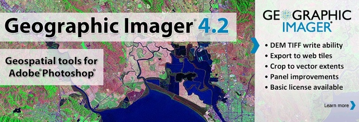 Avenza Releases Geographic Imager 4.2 for Adobe Photoshop
