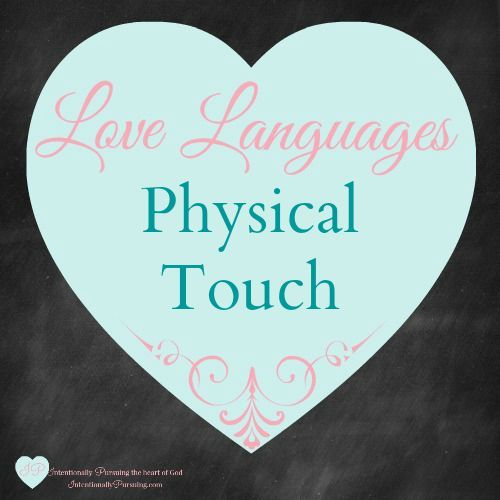 "In ""The 5 Love Languages"" by Dr. Gary Chapman, Dr. Chapman asserts there are five love languages which we all speak: Quality Time, Physical Touch, Words of Affirmation"