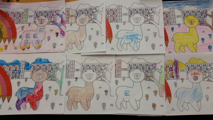 Some of the entries from our factory sale  colouring competition. We think all of the kids did an awesome job!