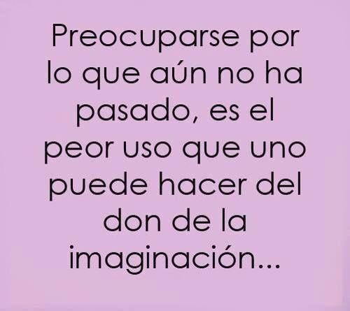 Dale buen uso a tu imaginación